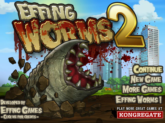 Play Effing Worms 2