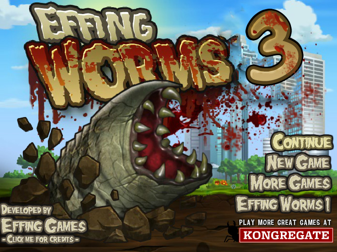 Play Effing Worms 3