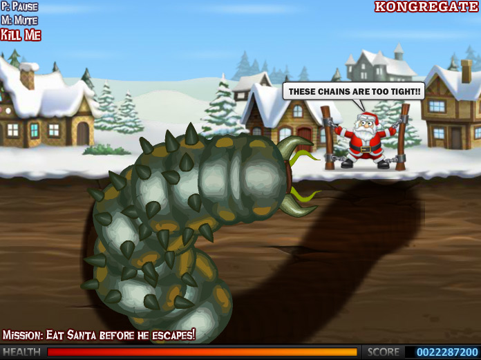 Effing Worms Xmas last level !